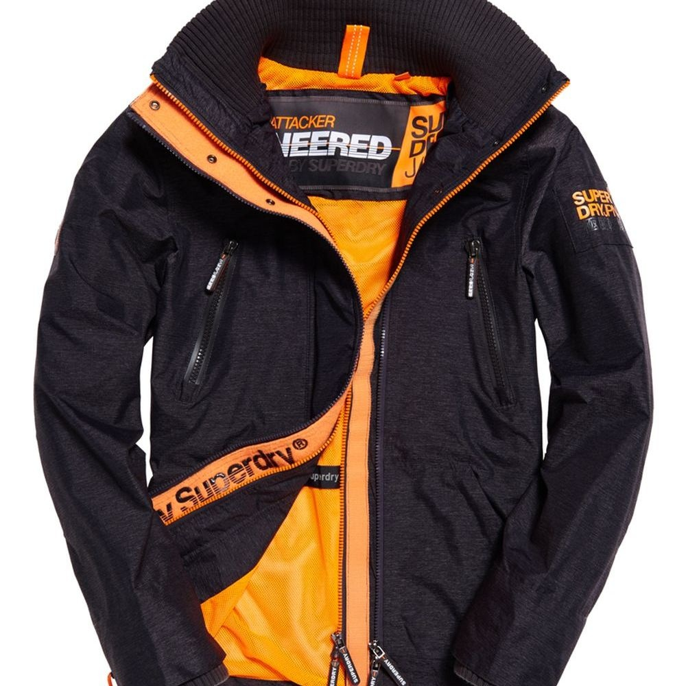 SUPERDRY 極度乾燥 風衣外套 黑色 389