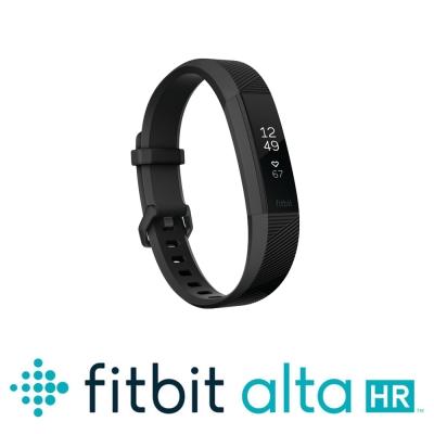 Fitbit Alta HR 心率運動手環 特別版 (消光黑/粉紅金)