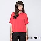 獨身貴族 簡約主義時尚剪裁設計上衣(3色)