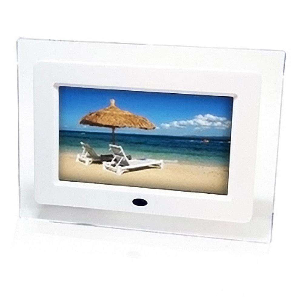 e-Kit 逸奇 7吋透明雪白數位相框電子相冊 DF-007
