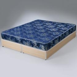Homelike 玫瑰緹花2.6硬式彈簧床墊 雙人5尺