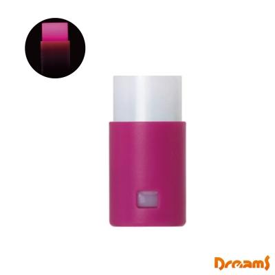 日本Dreams 創意LED發光磁鐵(兩入組)-粉