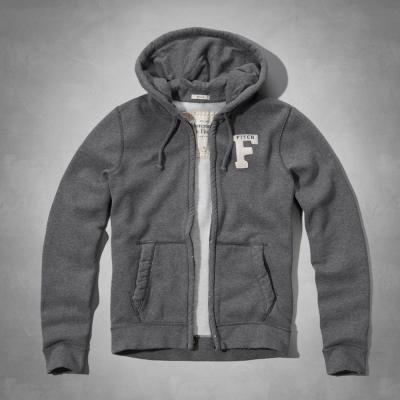 AF a&f Abercrombie & Fitch 外套 灰色 0225