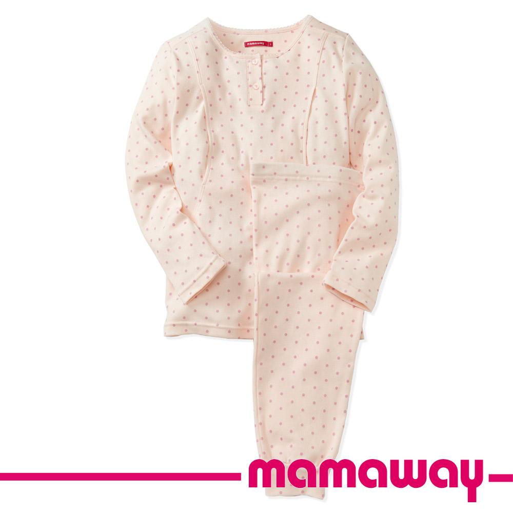 【Mamaway】點點孕哺兩用居家服(共二色)