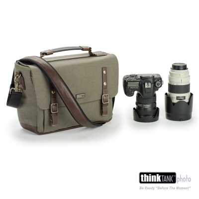 ThinkTank創意坦克-尊爵系列經典單肩相機包-SG377(橄欖灰L)