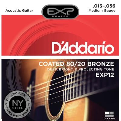 DAddario DDXF-EXP 12  黃銅民謠木吉他套弦