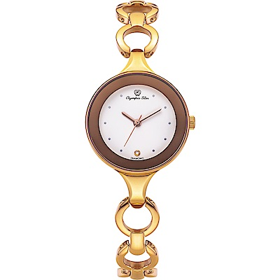 Olympia Star 奧林比亞之星  極簡風尚珠寶腕錶   28030LR