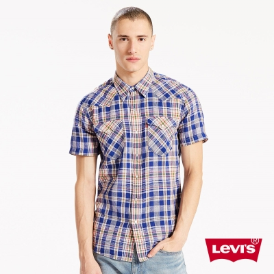 Levis 襯衫 短袖 男裝 亞麻透氣布料