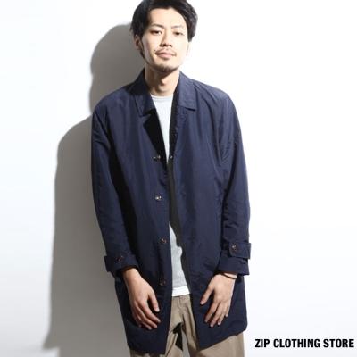 防潑水風衣外套-ZIP日本男裝