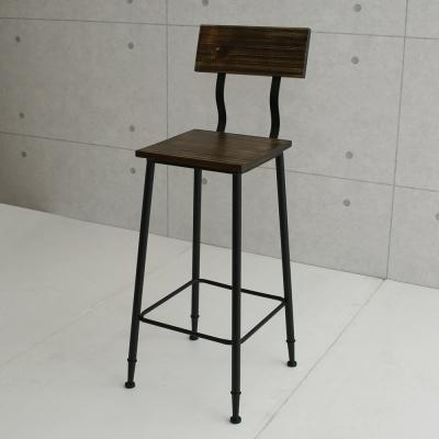 微量元素 手感工業風美式餐椅/吧台椅