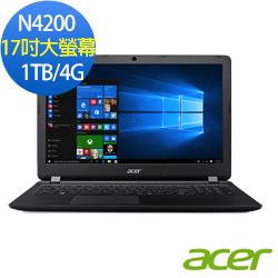acer ES1-732-P15K 17吋筆電