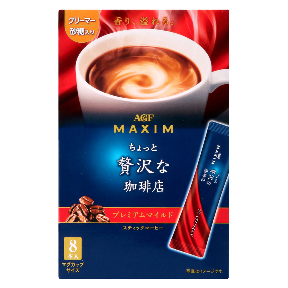AGF Maxim stick華麗咖啡-香醇(7gx8包)
