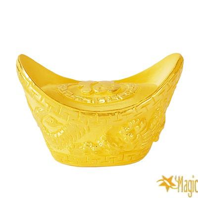 【Magic魔法金】福字元寶( 2錢) 立體黃金
