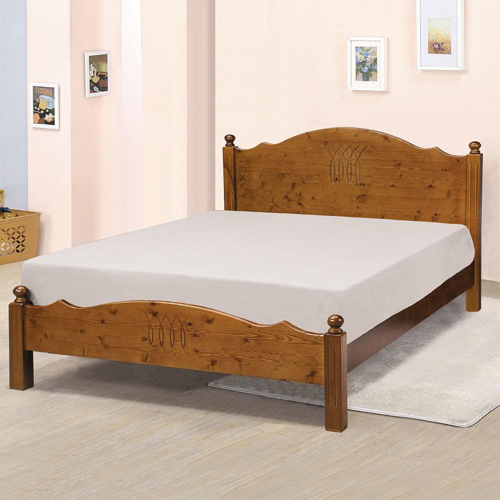 Homelike 桑妮床架組-雙人5尺(不含床墊)