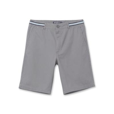 Hang Ten-男裝-百慕達休閒短褲-灰