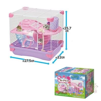 日本Marukan 雙層式 鼠鼠遊樂園/遊戲屋 S號 【ML-101】