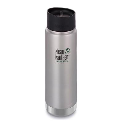 美國Klean Kanteen寬口保溫鋼瓶591ml-原鋼色