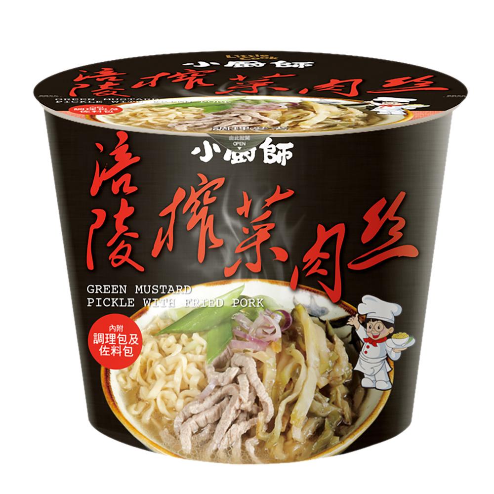 (活動)小廚師 涪陵榨菜肉絲慢食麵(194gx6桶)