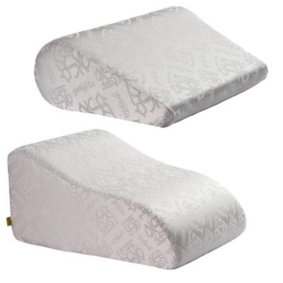 【GreySa 格蕾莎】 抬腿枕+輕鬆枕 (銀灰)