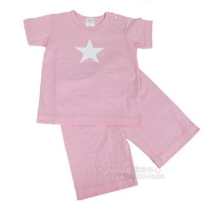 agnes b  粉紅星星居家套裝
