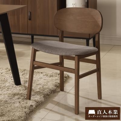 日本直人木業-Industry北歐美學餐椅(52x51x79cm)