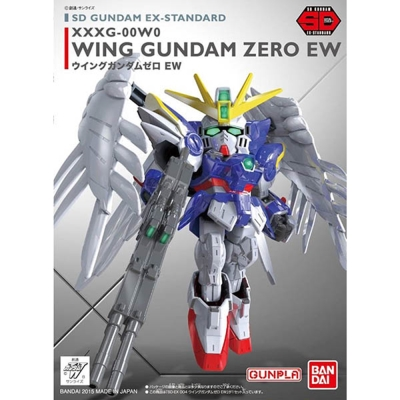 任選 BANDAI SD鋼彈 EX-S系列 飛翼零式天使鋼彈EW版 004