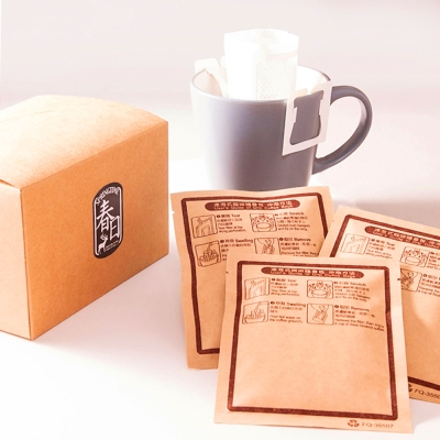 春日咖啡-蘇門達臘—綠寶石曼特寧咖啡豆 濾掛式咖啡(10入/盒)x3