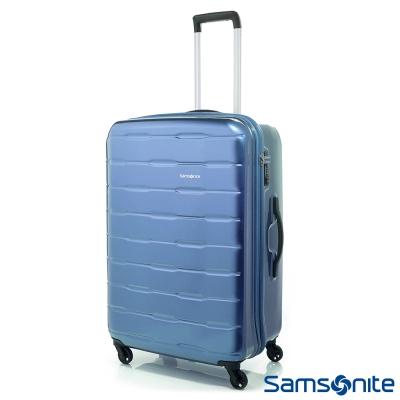 Samsonite新秀麗-24吋Spin-Trunk-PC硬殼行李箱-淺藍