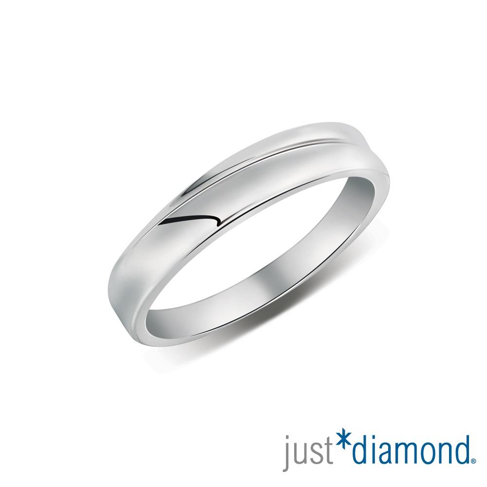 Just Diamond無盡的愛系列18K金對戒- 唯一摯愛-男戒