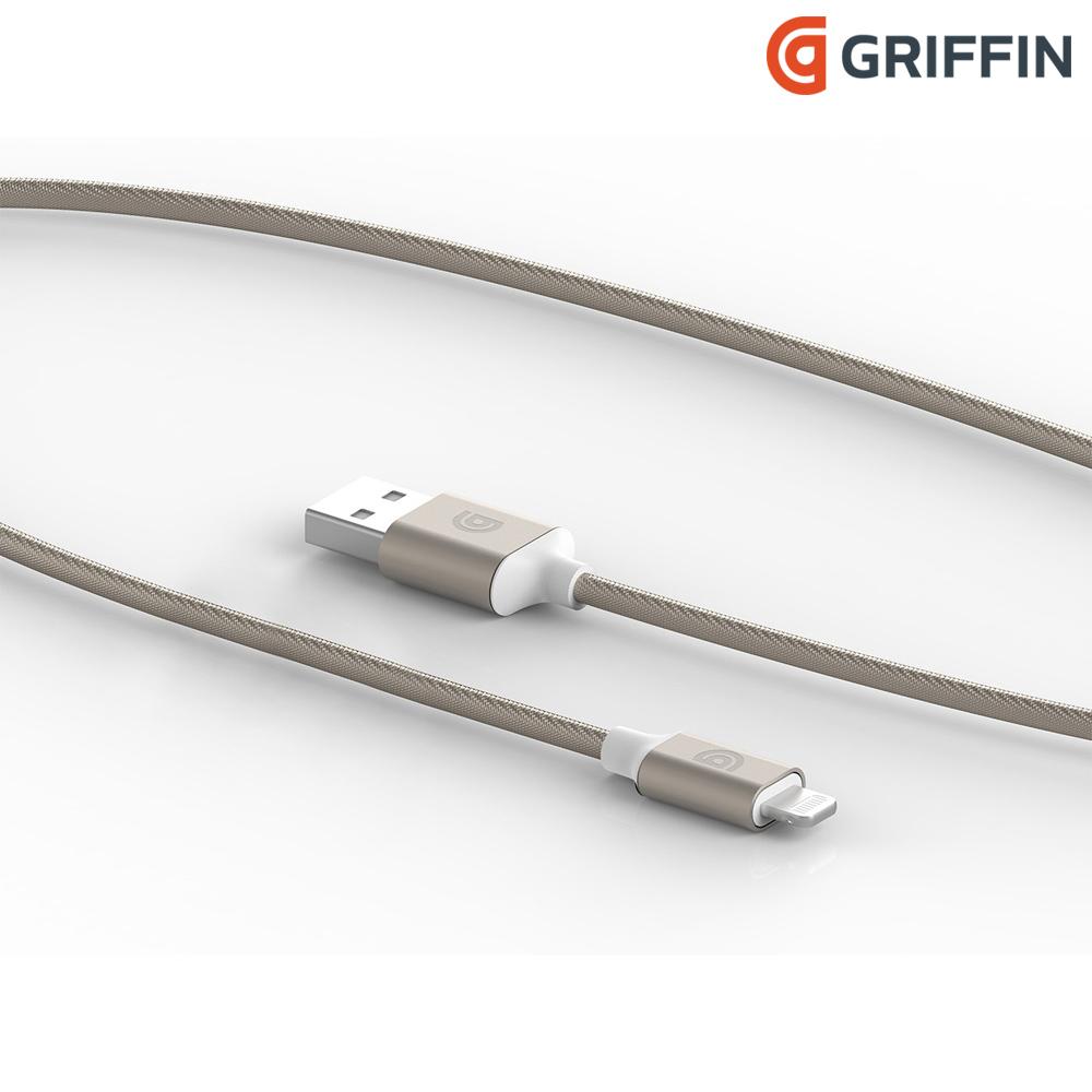 Griffin 1.5M Lightning 雙向USB編織充電傳輸線