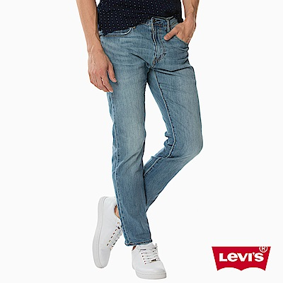 Levis 男款 上寬下窄 502 Taper牛仔長褲 彈性布料