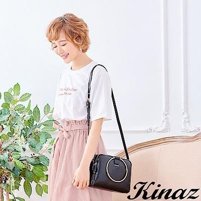 KINAZ 收藏美好兩用斜背包-謎樣黑-鑰匙系列