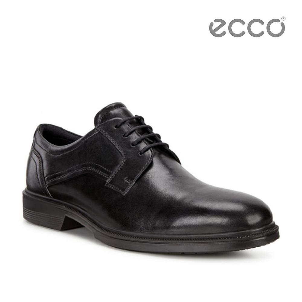 ECCO LISBON 經典商務紳士鞋-黑