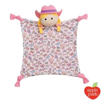 美國 Apple Park 農場好朋友系列 有機棉安撫巾 - 農場女孩