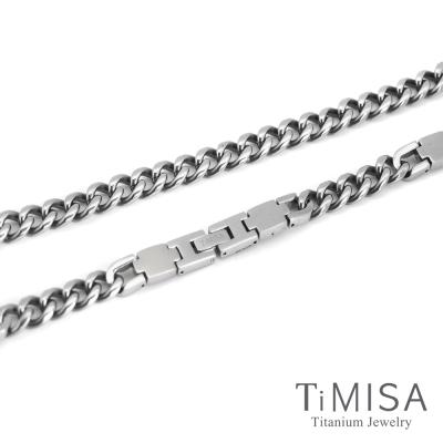 TiMISA 舒適鈦鍺 G鍊款 純鈦鍺項鍊