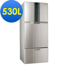 SAMPO 聲寶 530L變頻三門冰箱SR-A53DV(Y2) 炫麥金