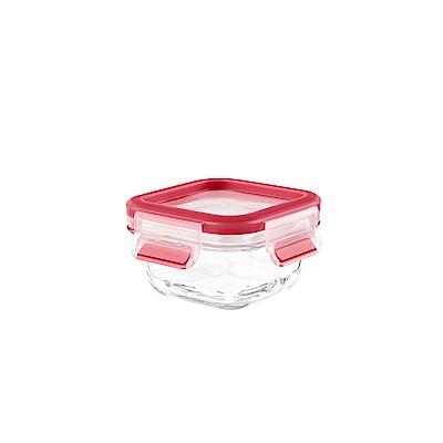 Tefal法國特福 德國EMSA原裝MasterSeal無縫膠圈3D密封耐熱玻璃保鮮盒200ML