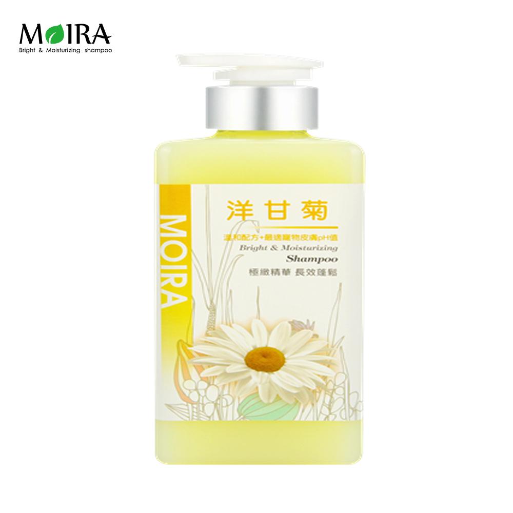MORIA莫伊拉 極緻精華 溫和配方洗毛精 - 洋甘菊 500ml X 1瓶