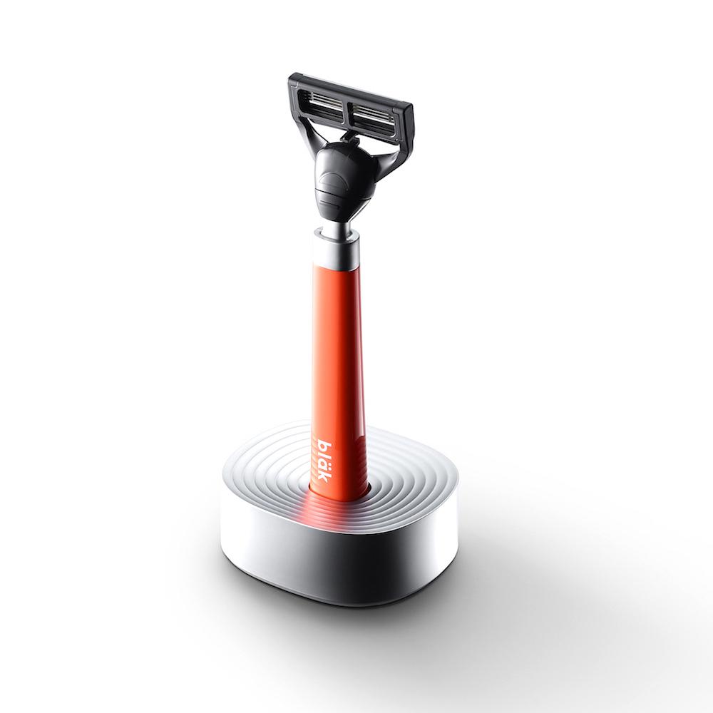韓國 bläk 經典款手動刮鬍刀 - 橘色