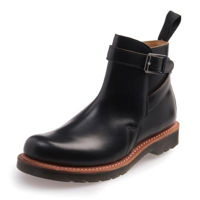 Dr.Martens KENTON-側邊單扣馬丁靴-男款-黑色