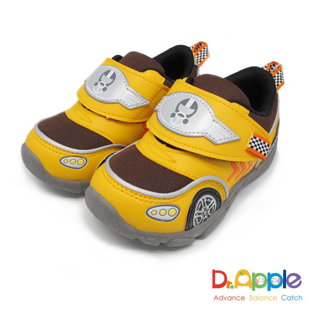 Dr. Apple 機能童鞋 速度奔馳鮮色超跑童鞋款 黃