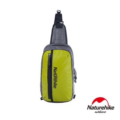 Naturehike 8L戶外輕量單肩斜背包 風行包 草綠-急