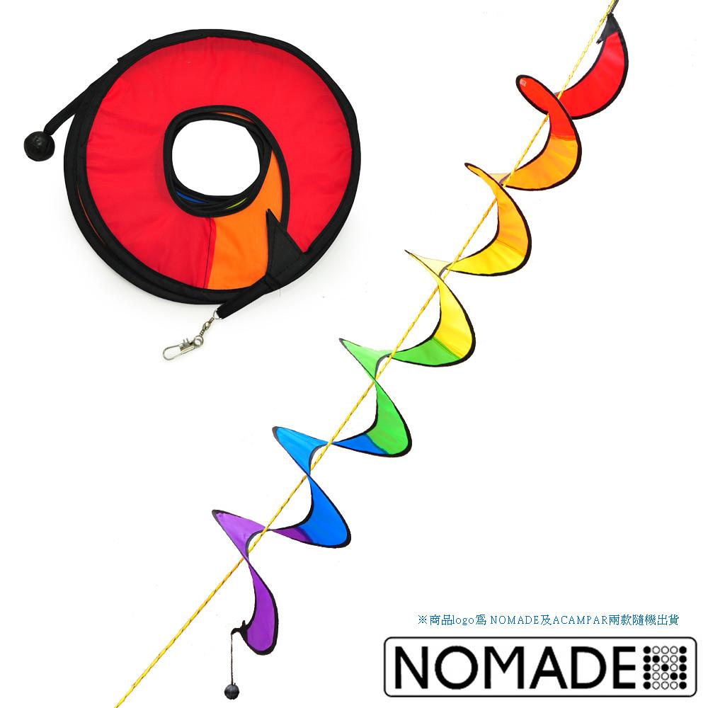 【NOMADE × ACAMPA】 戶外露營RV 裝飾旋轉彩帶 警示彩帶 繽紛小裝飾