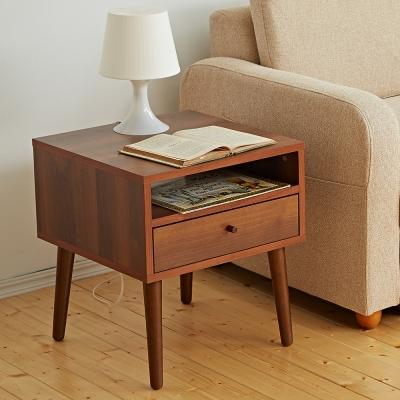 Bed Maker-投影機 抽屜收納茶几/邊桌‧實木桌腳-DIY組裝(三色)