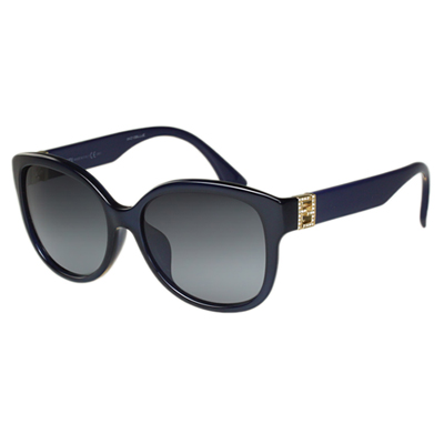 FENDI 時尚太陽眼鏡 (藍色)FF0069FS