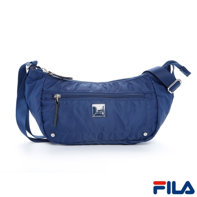FILA心之旅隨身側斜背包(復古藍)BSP- 5401 -BU