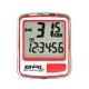 ECHOWELL BRI-5 多功能自行車有線碼錶 紅 product thumbnail 1