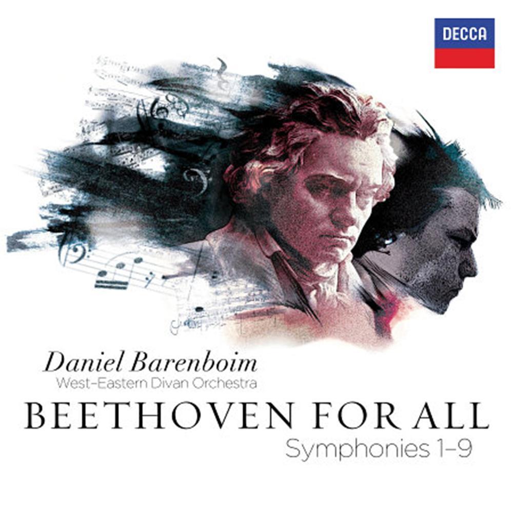 我愛貝多芬 - 交響曲全集 (5CD)