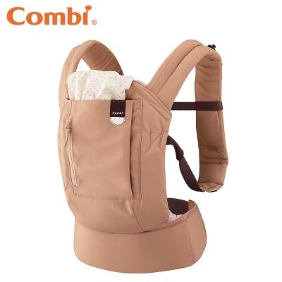 【麗嬰房】Combi JOIN 減壓型背巾(奶茶棕)