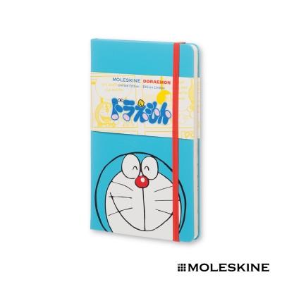 MOLESKINE 限量版 多啦a夢 筆記本(L/硬殼/素面)